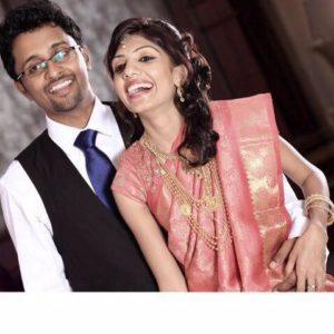 Priyanka Joseph's wedding